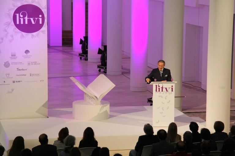 Antonio Gala en LITVI, evento organizado por Trevisani