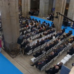 Público en el evento de las Medallas Castelao