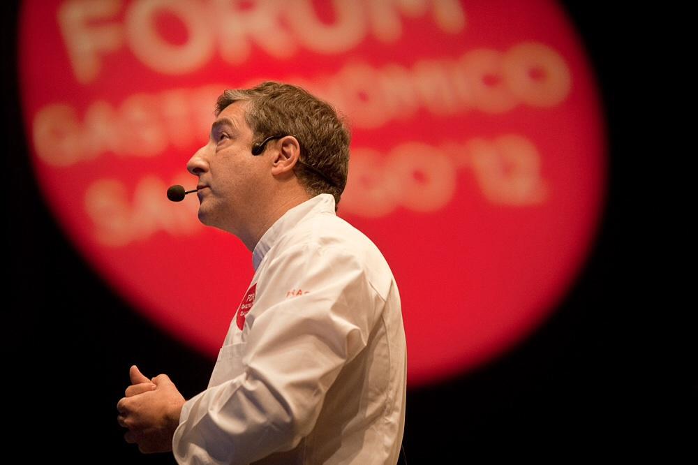 Jordi Roca en Fórum Gastronómico