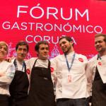 cocineros gallegos en Fórum Gastronómico de A Coruña
