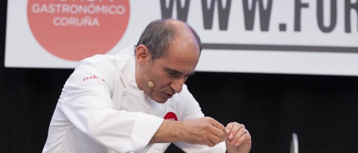 Paco Pérez en Fórum Gastronómico