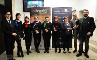 Premios María Casares 2014 Autora: Olalla Lojo