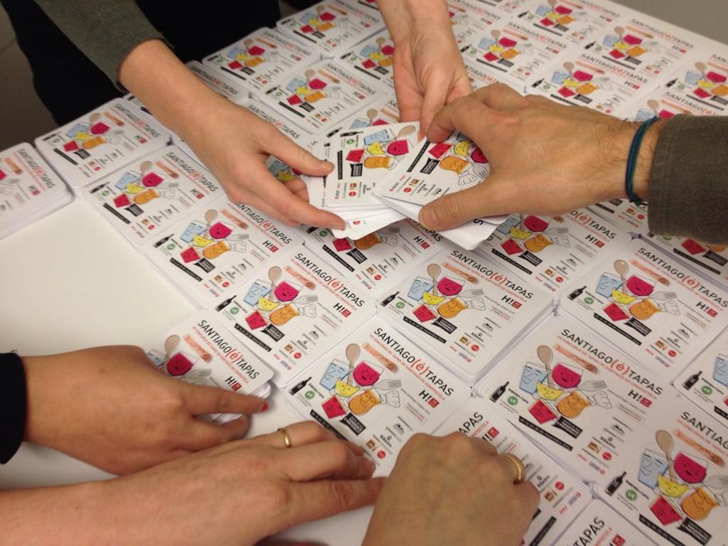 Trabajo de secretaría en Santiago é tapas, concurso de tapas de Santiago de Compostela