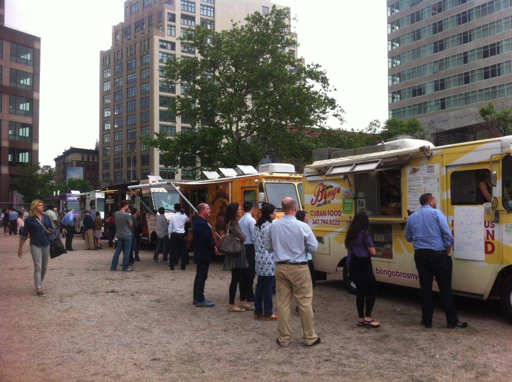Camiones de comida para paladares exigentes, eventos