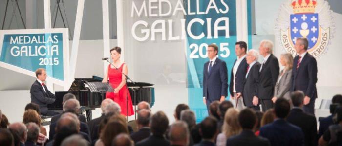 medallas de galicia escenario