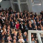 medallas de galicia público en en evento