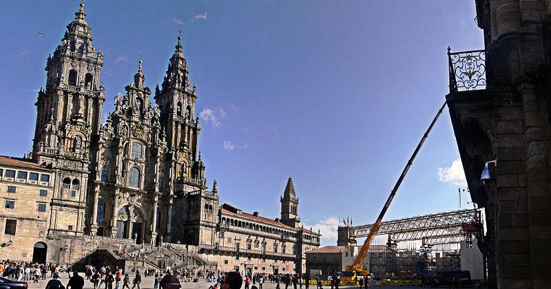 VIsita Benedicto XVI, eventos en Santiago de Compostela