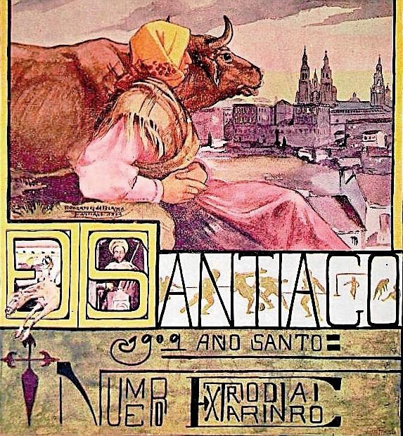 Santiago, 1909: grandes eventos en santiago de compostela