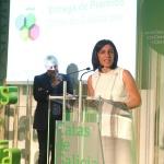 Conselleira do Medio Rural Ánxeles Vázquez en Evento de Premios Catas de Galicia 2016