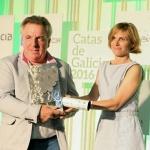 Nava Castro en Evento de Premios Catas de Galicia 2016