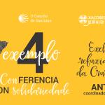 cartel del evento en Santiago