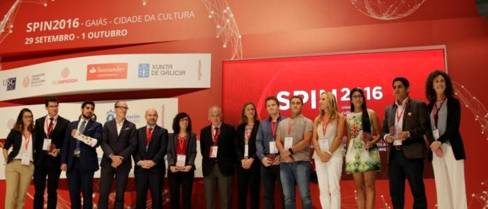 Spin 2016 evento en la Cidade da Cultura de Santiago.