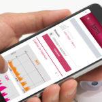 Teléfono móvil con aplicación de Sinergia G6