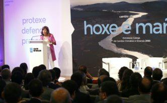 xornada de presentación da Estratexia galega de cambio climático e transición enerxética 2050