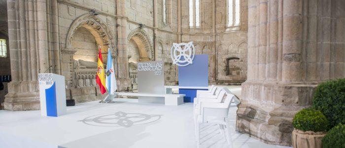 san domingos de bonaval evento medallas Castelao 2017