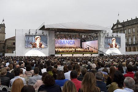 concierto palabras para galicia en Santiago de Abanca