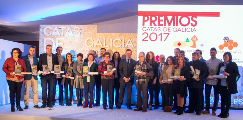 entrega de premios das Catas de Galicia 2017
