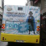 campaña congelación de óvulos de iraga autobús