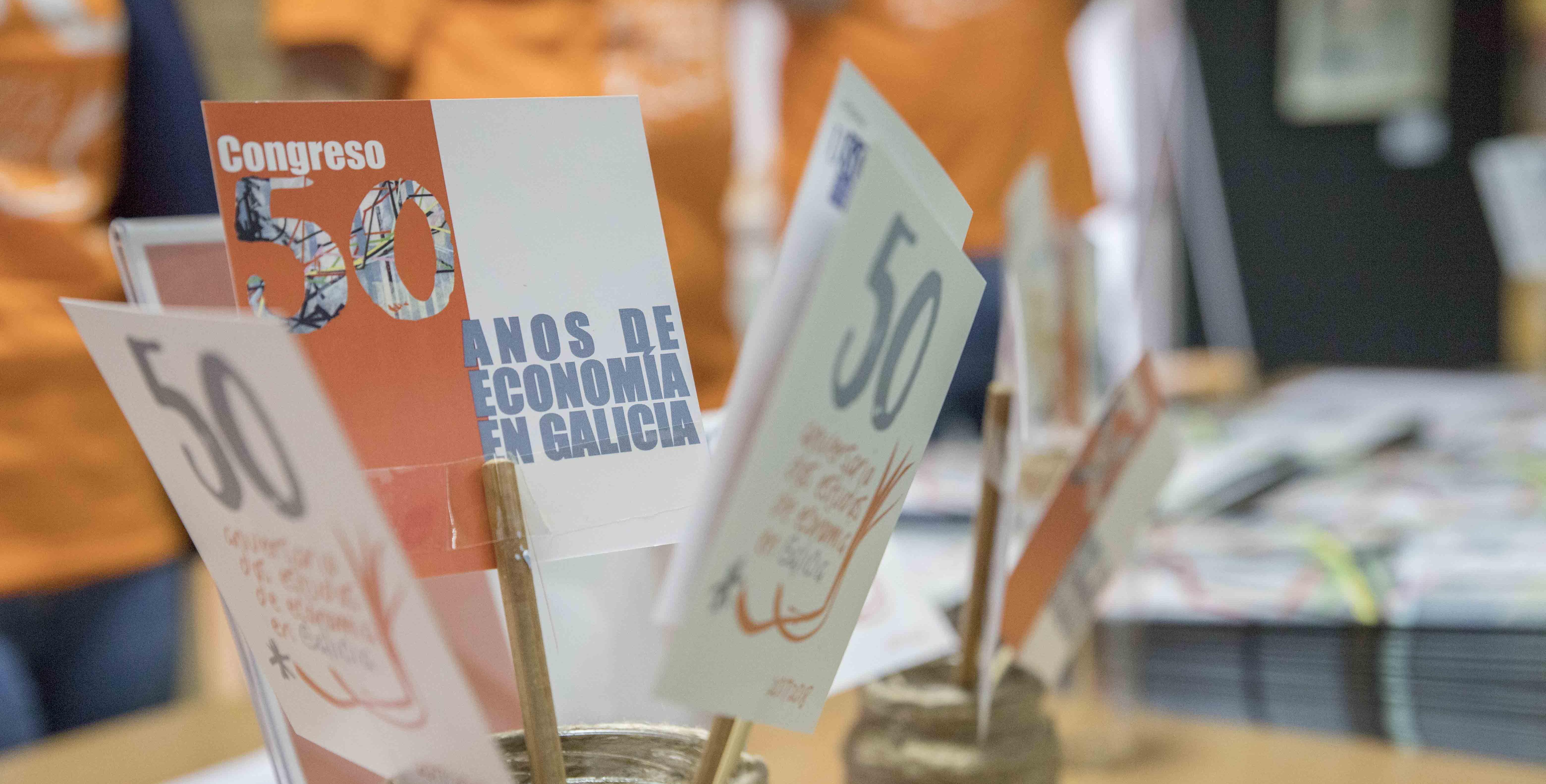 Congreso 50 años de economía en Galicia,