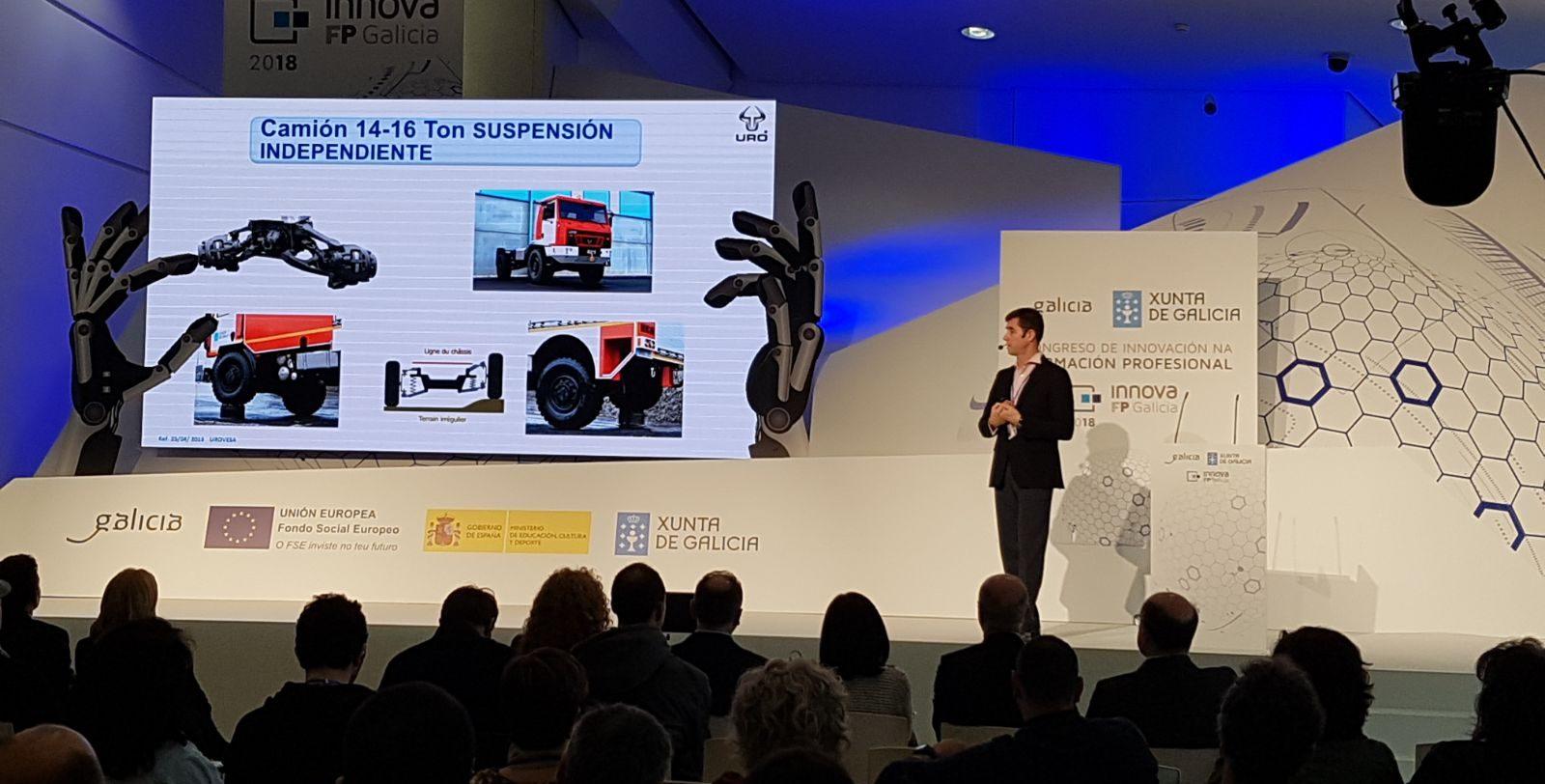 Congreso de Innovación na Formación Profesional 2018 en Santiago de Compostela