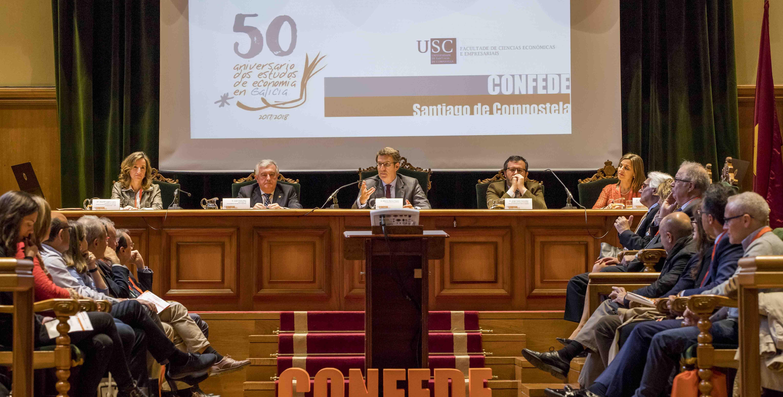 Santiago de Compostela. Evento en el Pazo de Fonseca.