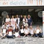 Ganadores Olimpiada de Economía na Facultade de Ciencias Económicas e Empresariais de Santiago