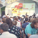 Público no evento dos 25 anos da Denominación de Orixe Monterrei, no Castelo de Monter