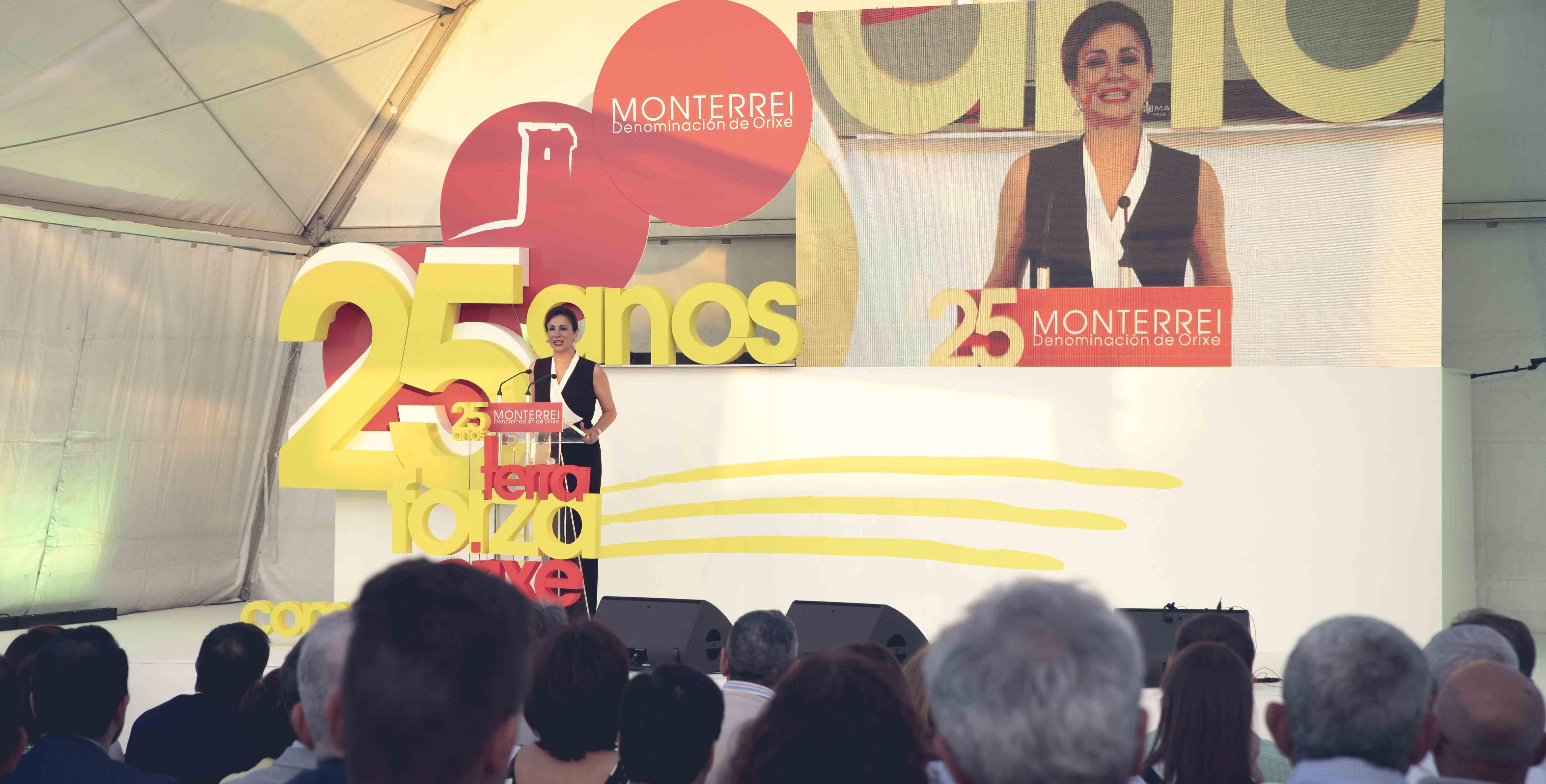 Silvia Jato nos XXV anos da D.O. Monterrei