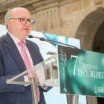 César Lumbreras no evento de entrega de premios da D.O. Ribeiro 2018