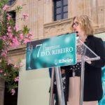Marga Pazos no evento de entrega de premios da D.O. Ribeiro 2018