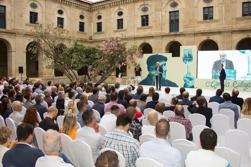 Público no evento de entrega de premios da D.O. Ribeiro 2018