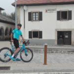 camino de Santiago en 24 horas en bicicleta, Mikel Azparren