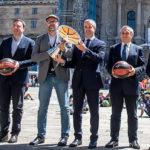 Presentación evento supercopa endesa acb de baloncesto en Santiago