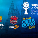 supercopa endesa acb de baloncesto en Santiago cuadro de participantes en el evento