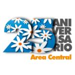 logotipo del 25 aniversario de área central