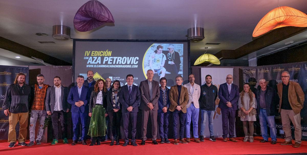 IV Edición del evento El Camino acaba en Obradoiro con Aza Petrovic evento obradoiro aza petrovic foto xaime cortizo
