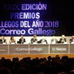 premios gallegos del año 2018 mesa presidencial en el Palacio de Congresos y Exposiciones de Galicia