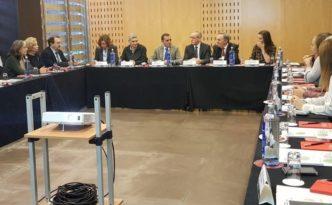Congreso en la reunión Hispano-Lusa congreso sesión