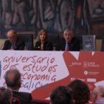 50 aniversario de estudios de economía e empresa en Galicia. Catálogo de Arte .José Carlos de Miguel, Emilia Vázquez e José Manuel García Iglesias