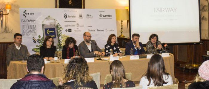Presentación del evento Fairway, Fórum del Camino de Santiago