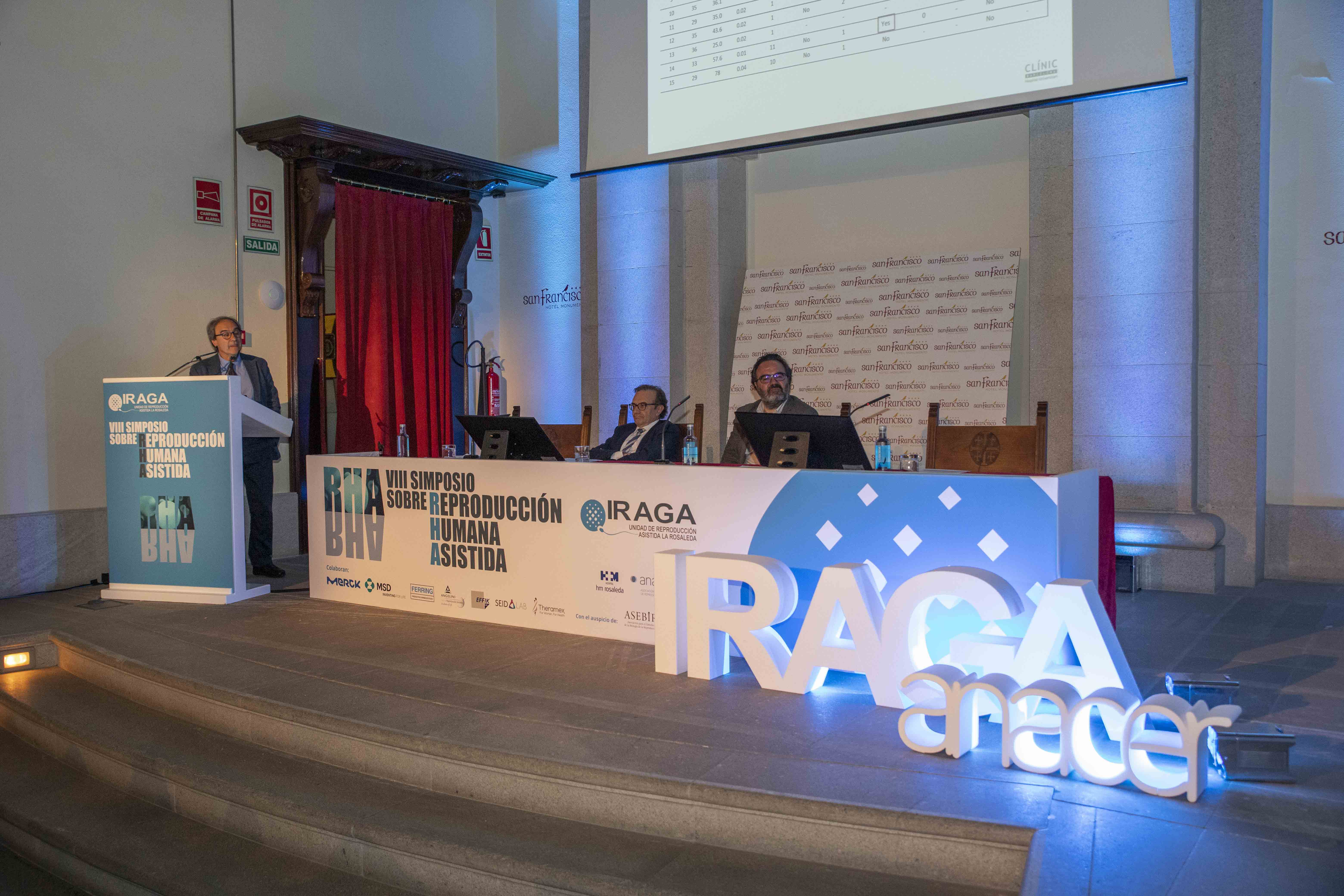 congreso médico de reproducción asistida Simposio IRAGA 2019