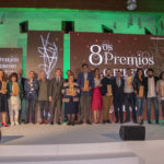 Premios Ribeiro 2019. Foto de premiados y autoridades.