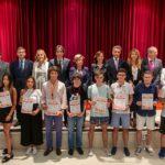 XI Olimpiada Española de Economía, foto de premiados