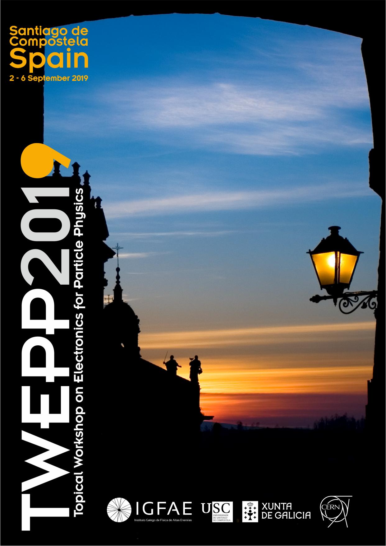 Conferencia temática en electrónica para física de partículas Twepp 2019