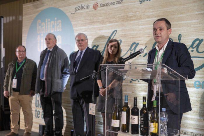 EnoTurismo Galicia, presidentes Rutas do Viño durante el evento en Madrid
