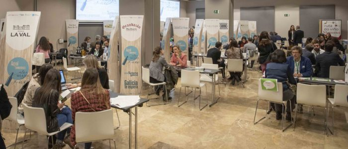 evento rutas del vino de Galicia en Madrid